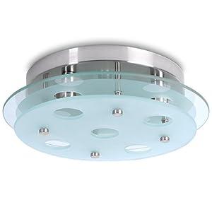 Jago BADL01-2 Bathroom Ceiling Light Fixture Ø approx. 32cm by Jago
