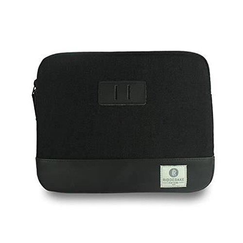 Ridgebake iPad Case Black Sacchetto filtro manicotto cassa raccoglitore nero