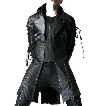 Giacca stile gotico PUNK RAVE 'dark funeral'da uomo multicolore XL