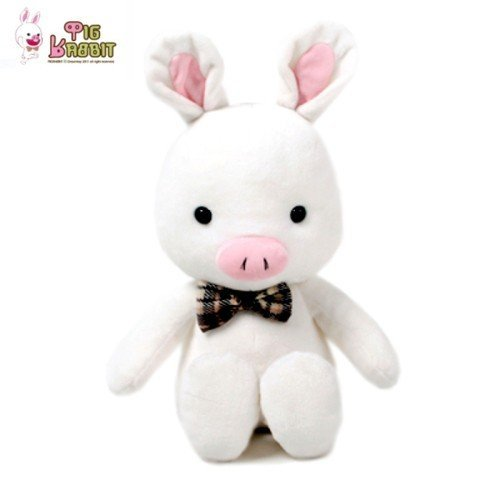 Korea Drama You're Beautiful Pig Rabbit Doll 35cm/13.8in (DRTY023)