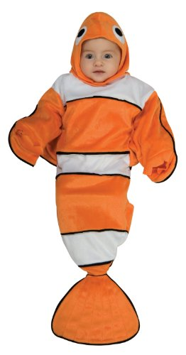 Rubie's Costume Deluxe Baby Bunting, Lil' Guppy, 0 to 9 Months
