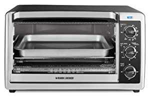 Black & Decker TO1660B 6-Slice Toaster Oven, Black at Sears.com
