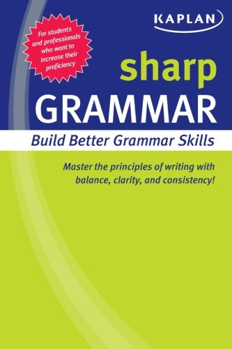 Sharp Grammar: Building Better Grammar Skills (Sharp Series)