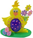 Purple Cat Make Your Own Chick Egg Holder, Multi-Colour