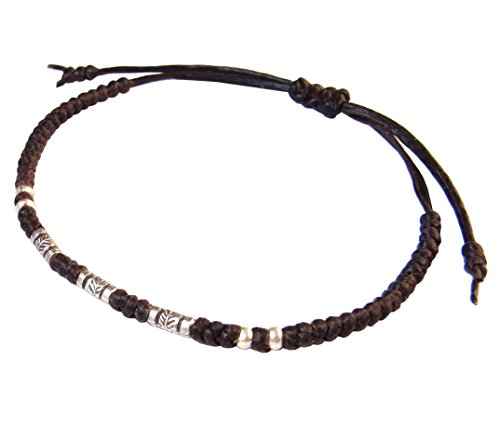 lun-na-asian-thai-vintage-art-hecho-a-mano-pulsera-925-de-plumas-de-moda-plata-marron-encerado-caden