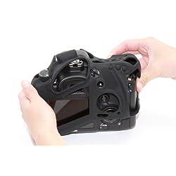 DISCOVERED イージーカバー Canon EOS 5D Mark2 用 液晶保護フィルム &スクリーンプロテクター付 ブラック 5D2-BL