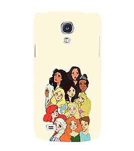 EPICCASE Gang of Toons Mobile Back Case Cover For Samsung Galaxy S4 Mini (Designer Case)