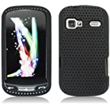 Aimo Wireless LGLM272PCPA001 Hybrid Armor Cheeze Case for LG Rumor Reflex/Freedom/Converse/Expression C395 - Retail Packaging - Black