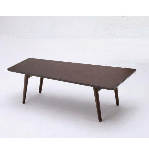 emo ウォールナット 折りたたみ テーブル ローテーブル 折り畳み 四角 木製