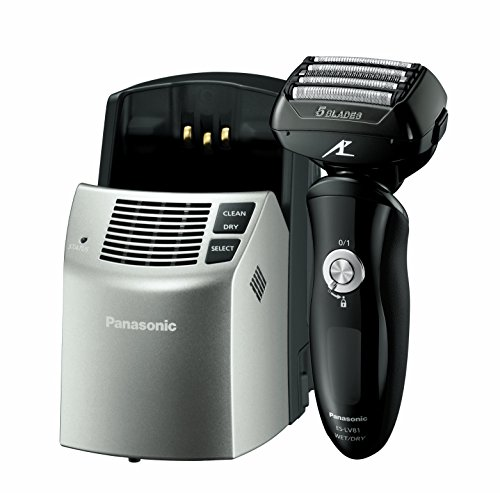 Panasonic ES-LV81-K Arc5 Men's Electric Razor, Wet/Dry with Multi-Flex Pivoting Head, High-Performance Motor, and included Premium Automatic Clean & Charge Station (Computer Cleaner Foam compare prices)