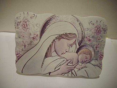 ICONA MADONNA CON GESU' BAMBINO BOMBONIERA MATERNITA' BATTESIMO maternità CONTATTATECI PER QUANTITA'