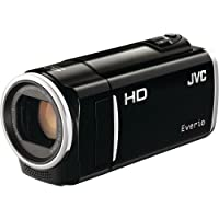 JVC GZ-HM50 HD Everio Memory Camcorder, 40x Optical Zoom, 2.7 inch LCD, 8GB Built-in Flash Memory, Face Detection, SD/SDHC/SDXC Card Slot, Black from JVC