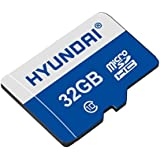 Hyundai 32GB Class 10 Micro SDHC Card With Adapter Up To 25MB/s (MHYMSDC32GC10)