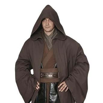 スターウォーズ ジェダイ 風 ローブ 衣装 (ローブ、収納袋) コスチューム 約165cm-約180cm