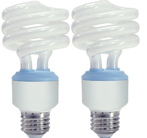 Ge Lighting 67453 Reveal Spiral Cfl 20 Watt 75 Watt Replacement 1200 Lumen T3 Spiral Light