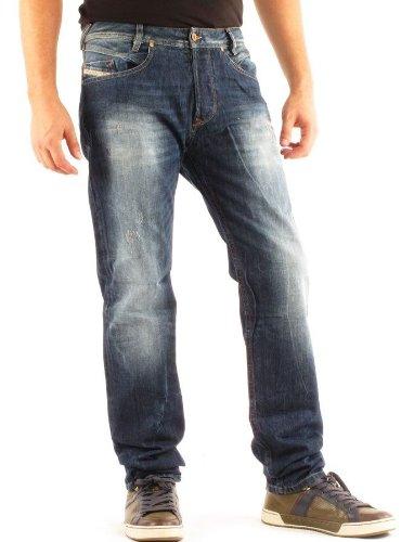 Diesel Iakop_8b9 Straight Blue Man Jeans Men - W31l32