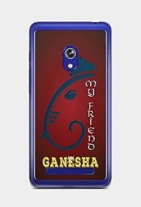 YuBingo My Friend Ganesha Designer Mobile Case Back Cover for Asus Zenfone 5