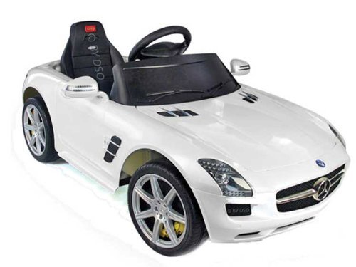 rastar-licensed-kids-mercedes-sls-amg-6v-white-with-parental-remote-control-bml52810