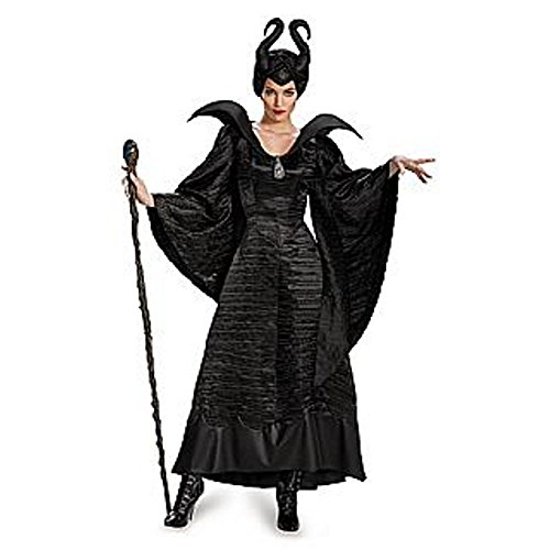 Maleficent Christening Costume Black Gown - Adult Deluxe