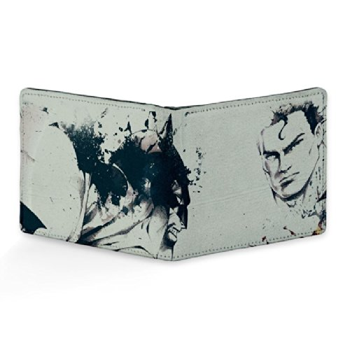 Bluegape Superman Design Art Leather Wallet for Men