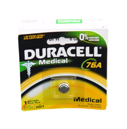 #1) Duracell LR44 1.5V Button Cell Battery - WATCHES 4530j
