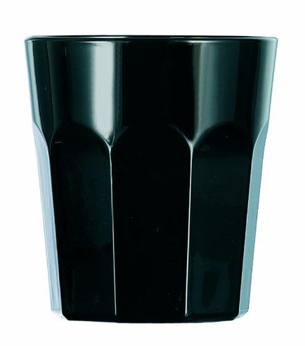 Lot de 4 gobelets rivoli noir
