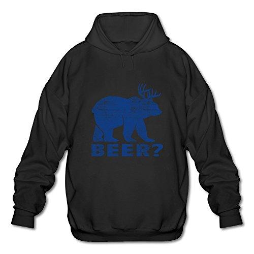 Cleve Tribe Clothing - Felpa con cappuccio - Uomo nero M