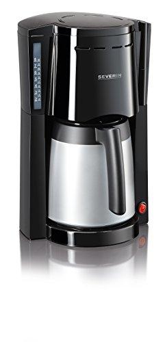Severin KA 9482 Kaffeeautomat mit 2 Thermokannen, schwarz / silber