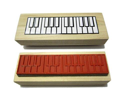 Zwei-Oktaven-Piano-Klavier-Griffe-Gummistempel-Spart-soviel-Zeit