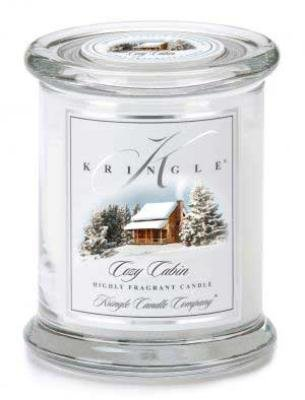 COZY CABIN Medium Kringle Candles 50 Hour Jar Candle