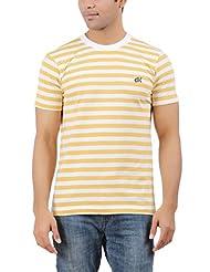 DK Clues Men's Round Neck Cotton T-Shirt - B00XN6RYO8