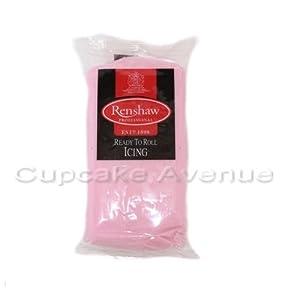250gr Renshaws Professional Pink Regalice / Sugarpaste Cake Covering