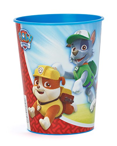 American Greetings PAW Patrol 16 oz. Plastic Party Cup, Party Supplies