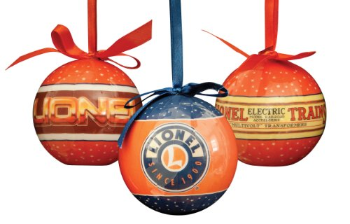 Lionel Logo Christmas Ornaments