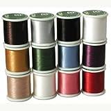 Japanese Nylon Beading KO Thread for Delica Beads ASSORTED