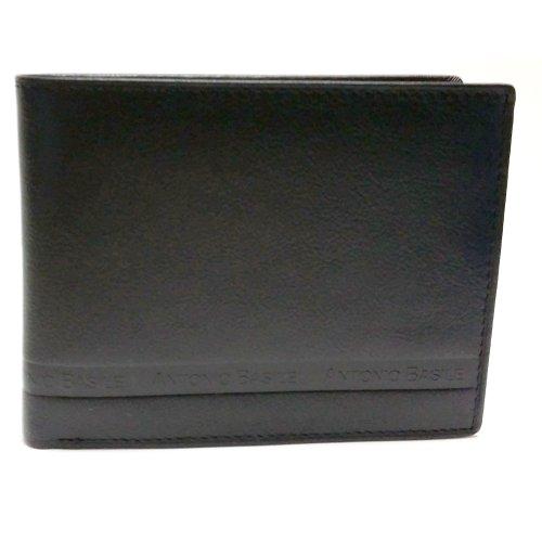 Portafogli uomo Antonio Basile in pelle art 8866psb04 nero
