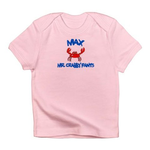 Personalized Mr Crabby Pants Lobster Shirt For Baby, Infant, Toddler, And Kids - Customize With Any Boy Or Girls Name, Birthday Present Custom Gift Collection front-922991