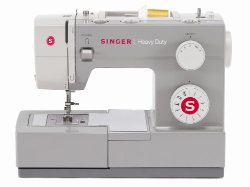 New SINGER 4411 Heavy Duty Sewing Machine with Metal Frame and Stainless Steel Bedplate