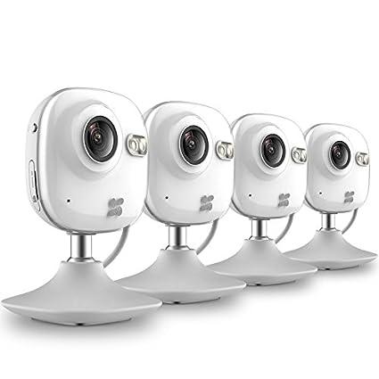 EZVIZ BCV-114 Mini HD 720p WiFi Home Security Camera (4 Pcs)