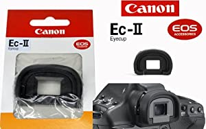 Canon EOS Eyecup EC-II for the EOS 1v, 1N, 1N RS, 1D, 1Ds & 1D Mark II SLR Cameras.