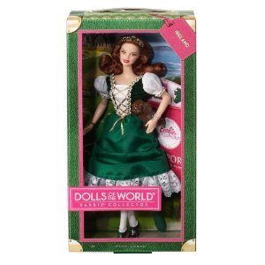 Barbie-W3440-Barbie-Collector-Pink-Label-Dolls-of-the-World-Mucas-del-mundo-Irlanda