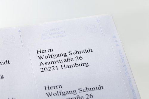 Avery Zweckform 6174 Lot de 525 étiquettes universelles 70 x 42,3 mm (Blanc) (Import Allemagne)