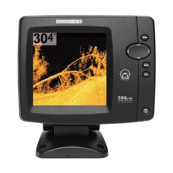 The Humminbird 596c HD DI Fishfinder features a brilliant color 640V x 640H 5-Inch display and dual beam 200/455 KHz sonar with 500 Watts of transmit power, along with a high resolution 455/800KHz Down Imaging sonar. Rugged construction and ease of u...
