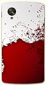 Outstanding multicolor printed protective REBEL mobile back cover for LG Nexus 5 / Google Nexus 5 D.No.N-L-11747-NX5