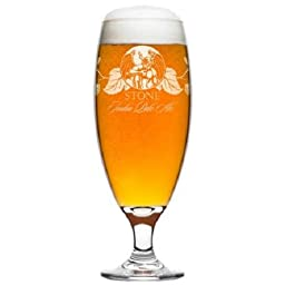 Stone Brewing IPA India Pale Ale Specialty Beer Glass 16oz