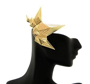 New & Trendy Gold Geometric Women's Ear Cuff HE1592GD