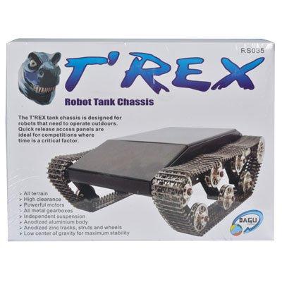 Dagu T'Rex Metal Tank Chassis (Rc Bush Wheels compare prices)