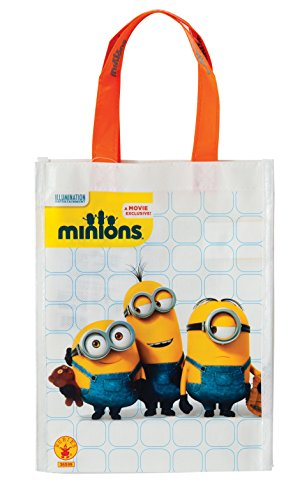 Rubie's Costume Minions Trick-or-Treat Canvas Bag Costume