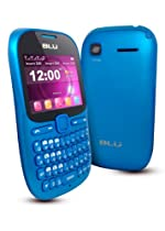 BLU Hero Pro Q333w Unlocked GSM Phone with Tri-SIM, QWERTY Keyboard, 1.3MP Camera, Video Recorder, Analog TV, Wi-Fi, Bluetooth, Stere FM Radio, MP3/MP4 Player and microSD Slot - Blue