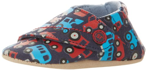Stride Rite Fast Wheels Crib Shoe (Infant),Navy/Red/Blue, front-695915